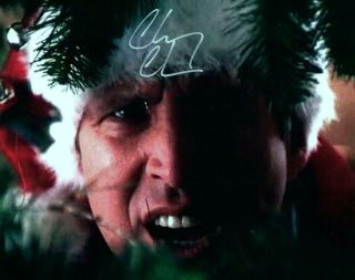 Chevy Chase Signed 8x10 Autographed Photo Picture With Christmas Vacation