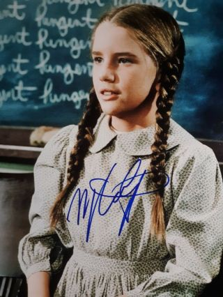 Melissa Gilbert As Mary Ingle Hand Signed 8x10 Autographed Photo W