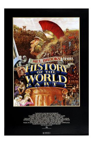 History Of The World Part 1 Movie Poster 11x17 In / 28x43 Cm Mel Brooks