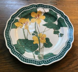 Antique Royal Doulton Art Nouveau Plate - Green,  White,  Yellow