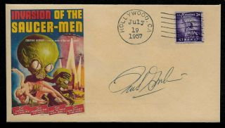 1957 Invasion Of The Saucer Men Featured On Collector Envelope Op1256