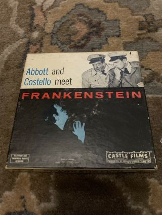 Abbott And Costello Meet Frankenstein Castle Films