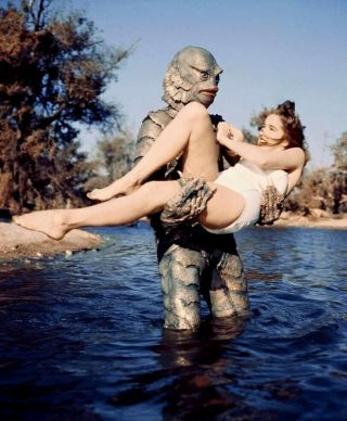 Creature From The Black Lagoon Julie Adams 8x10 Color Photo 2