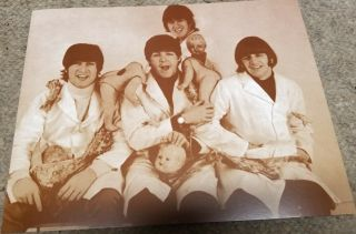 """The Beatles Poster Print - 1966 - Yesterday And Today Butcher Cover - 11 """" X14 """""""