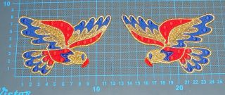 Belt Patch Elvis Presley Jumpsuit Cape American Eagle Costumes Embroidery Patch