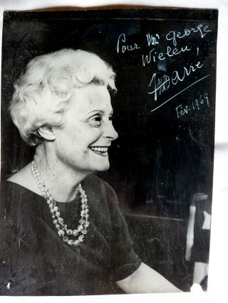 Signed Vintage 1969 Photograph - I Do Not Know Who This Is - Classical Music???