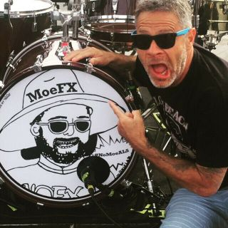 "Nofx "" Moefx "" Nomoeals Signed 22 "" Kick Drum Head"