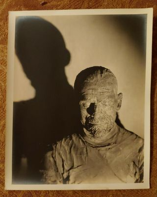 1932 Universal The Mummy Publicity Photo Boris Karloff