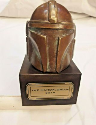 Star Wars The Mandalorion Series (2019) Bouty Hunter Employee Gift Bronze Statue