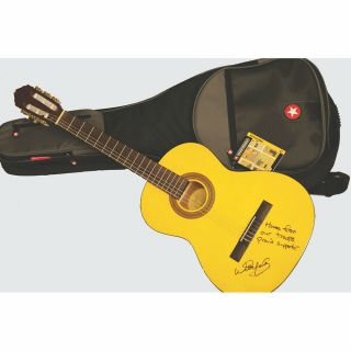 Willie Nelson Autographed Lucero Classical Guitar
