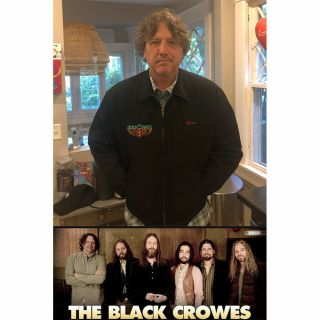 Steve Gorman Of The Black Crowes Band Jacket Autographed To Winning Bidder