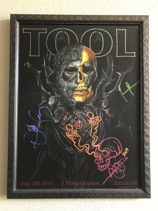 Tool Signed Autographed