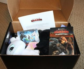 How To Train Your Dragon 3 Promo Fyc Toothless & Light Fury,  Soundtrack Dvd
