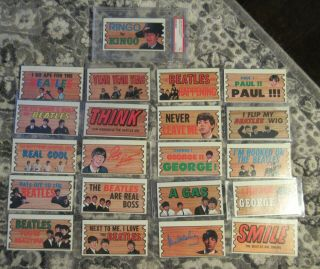 Beatles Vintage Incredibly Rare Set Of 45