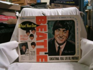 The Offical Beatles Number Oil Paint Set
