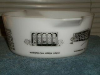 Vintage Pyrex rare HTF Lincoln Center Promotional Casserole 475 7