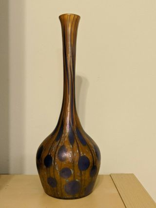 Loetz Austria Handblown Glass Vase -