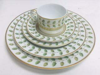 "Bernardaud Limoges "" Constance "" China Set For 7 (50 Piece)"