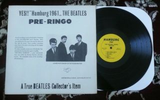 Beatles ULTRA RARE VINTAGE 1964 ' SAVAGE YOUNG BEATLES ' ORANGE COVER LP 2