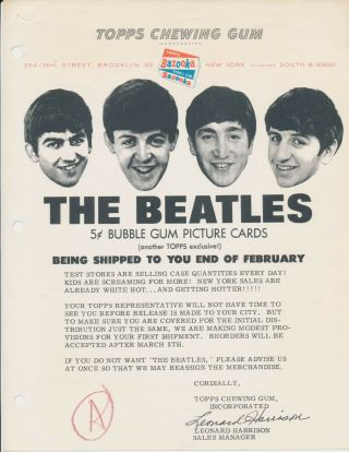 Beatles Ultra Rare Early February 1964