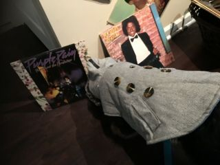 Prince Purple Rain Album With Poster