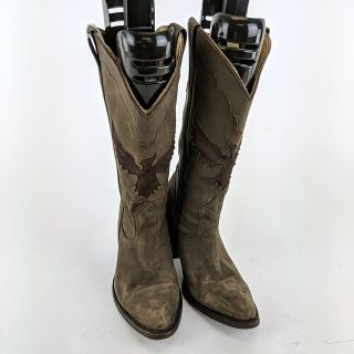 Miranda Lambert Idyllwind Brown Leather Cowboy Boots Size 8.  5 B