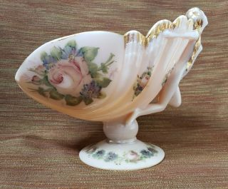 Cambridge Crown Tuscan Flying Nude Bowl - Pink Charleton Floral And Gold