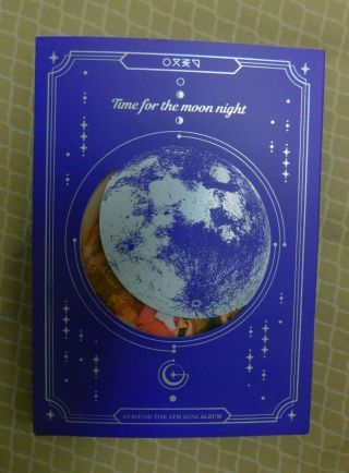 Gfriend Time For The Moon Night 6th Minialbum Cd,  Book,  Photocard,  Poster