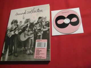 Sound Collector Mag 8,  Cd With Iron & Wine Zammuto Sufjan Stevens