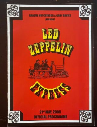 Led Zeppelin Convention Program 2005