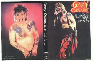 Ozzy Osbourne: Dvd Rock In Rio 1985