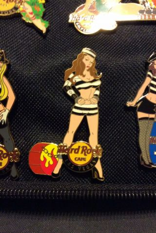 Hard Rock Cafe Pins 2006 Las Vegas Jail Bird Girl Pin