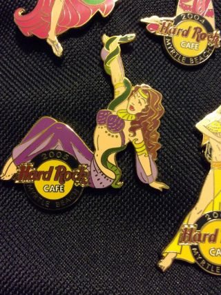 Hard Rock Cafe Myrtle Beach 2005 Female Dancer Pin