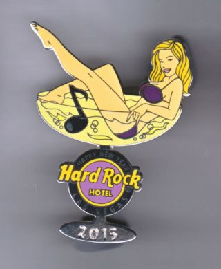 Hard Rock Cafe Pin: Las Vegas Hotel 2013 Years Girl In Martini Glass Le250