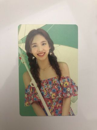 Twice Nayeon Twicezine In Jeju Island Photocard