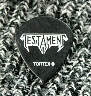 Testament // Alex Skolnick Tour Guitar Pick // Rare Largo Logo Version Savatage