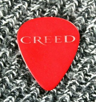 Creed // Mark Tremonti Concert Tour Guitar Pick // Rare Red Version Alter Bridge