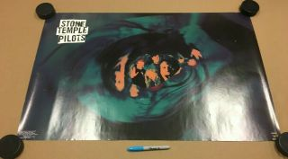Stone Temple Pilots - 1993 Poster - Scott Wieland - Rare - Core Purple