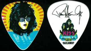 Kiss - - Kruise Viii 8 - 2018 Tour Guitar Pick - Paul Stanley - Sailaway