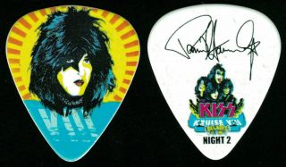 Kiss - - Kruise Viii 8 - 2018 Tour Guitar Pick - Paul Stanley - Night 2