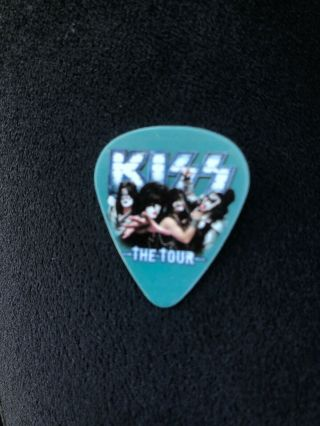 Kiss Tour Guitar Pick Live Icon Tommy Thayer Rock Band 9/12/12 Cuyahoga Ohio