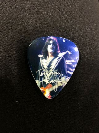 Kiss Hottest Earth Tour Guitar Pick Tommy Thayer Mexico City 10/1/10 Signed Wow