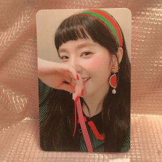 Irene A Official Photocard The Red Summer Mini Album Red Flavor Kpop