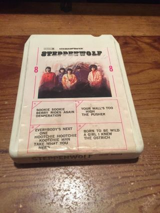 Steppenwolf/ Stereophonic/ Dunhill 8 Track Tape