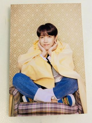 [bts] Persona Bts Map Of The Soul Official Signed Post Photo Card - J - Hope