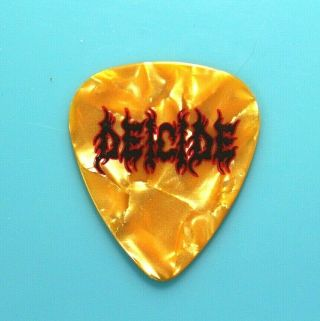 Deicide // Mark English Overtures Of Blasphemy 2018 Tour Guitar Pick //