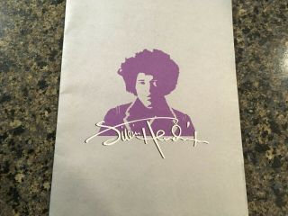 1997 Jimi Hendrix South Saturn Delta Press Kit W/photos