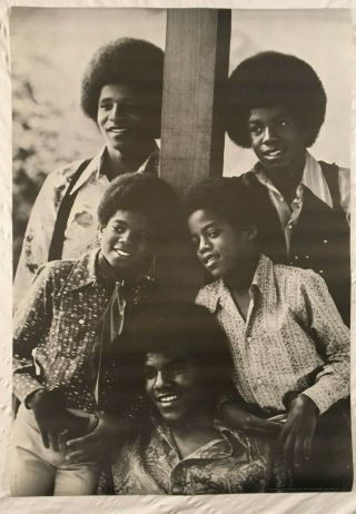 Michael Jackson Five 1971 Personality Poster York City