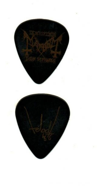 (( (mayhem))  Guitar Pick Picks Plectrum Very Rare 2