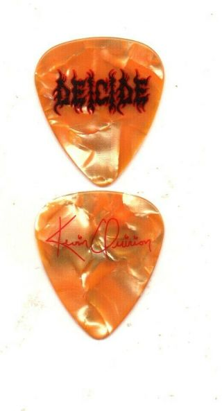 (( (deicide))  Guitar Pick Picks Plectrum Very Rare 2